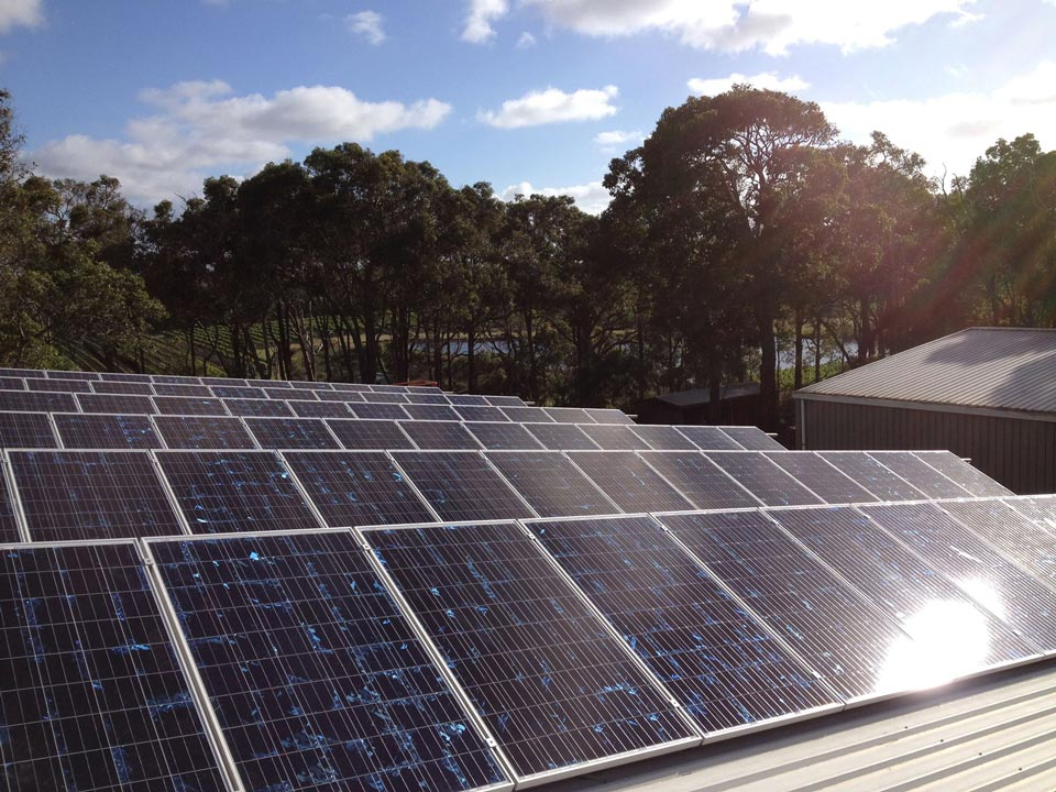 Margaret River off-grid system